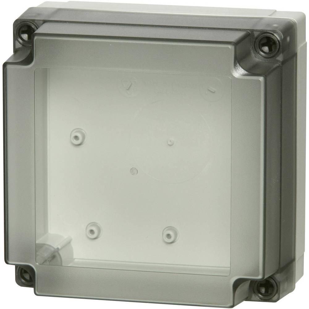 Kabinet til montering på væggen, Installationskabinet Fibox MNX PCM 125/60 T 130 x 130 x 60 Polycarbonat 1 stk
