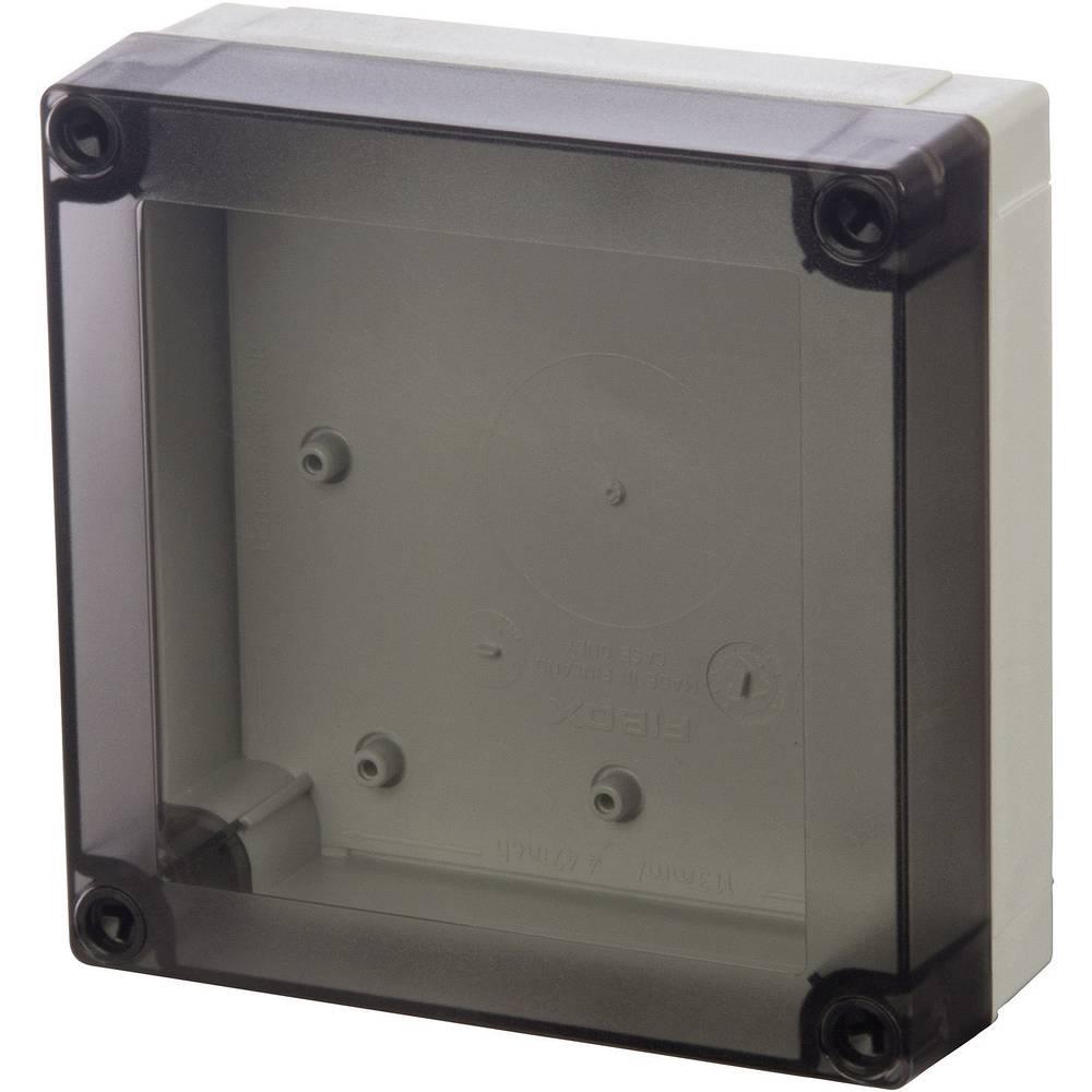 Kabinet til montering på væggen, Installationskabinet Fibox MNX PCM 175/100 T 180 x 180 x 100 Polycarbonat 1 stk