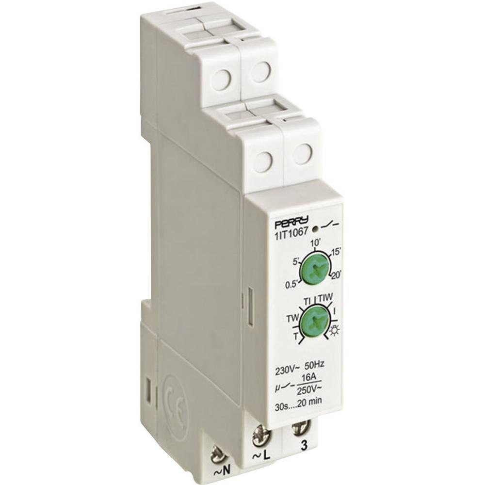 Analogno časovno stikalo za luč na stopnišču 16 A 1 zapiralno 230 V/AC N61145