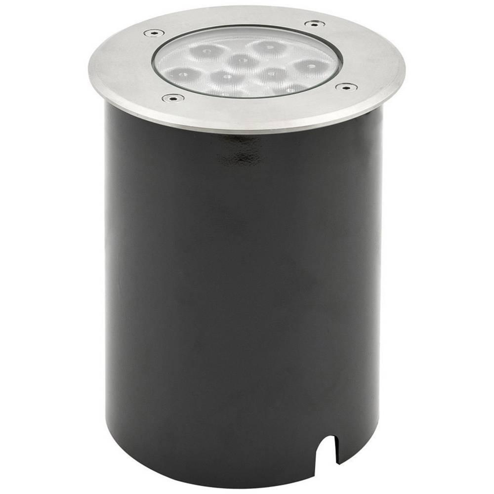 Konstsmide 7921-310 LED zunanja vgradna svetilka 9 W EEK: LED (A++ - E) Topla bela Aluminij