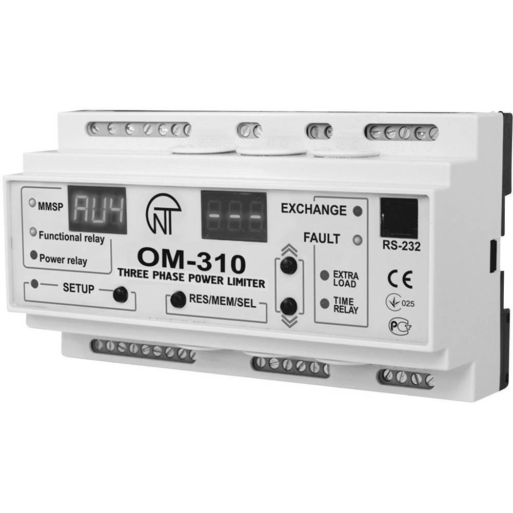 Novatek Dreiphasenleistungsbegrenzer OM-310 230 V globina vgradnje 56,8 mm