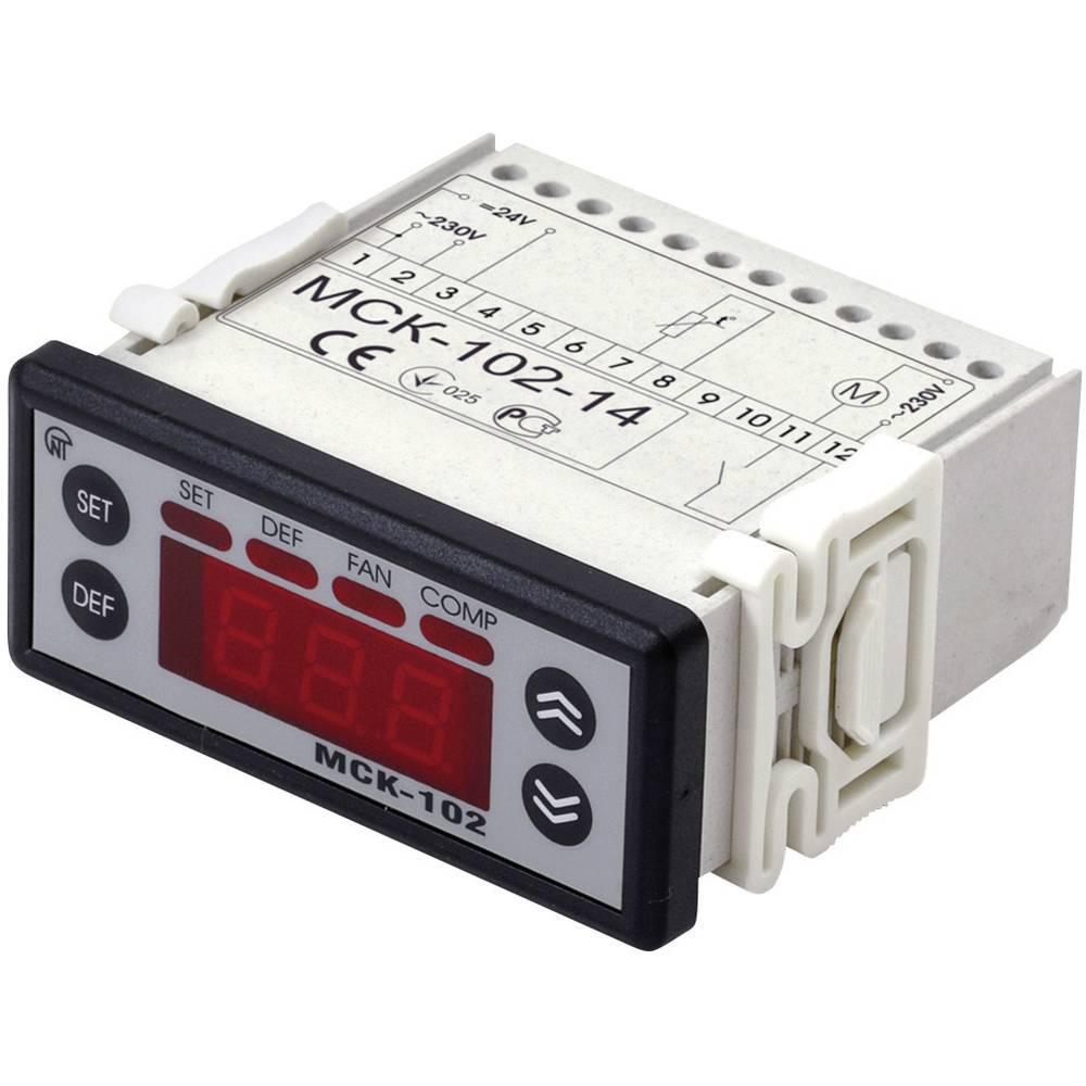 Novatek krmilnik MSK-102-1 24/230 V merilni vhodi 1 tipalo Izhodi 1 rele globina vgradnje 65 mm