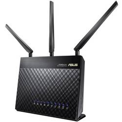 WLAN-Router - usmjerivač 2.4 GHz, 5 GHz 1750 MBit/s Gigabit-LAN Asus RT-AC68U 90IG0060-BM3000