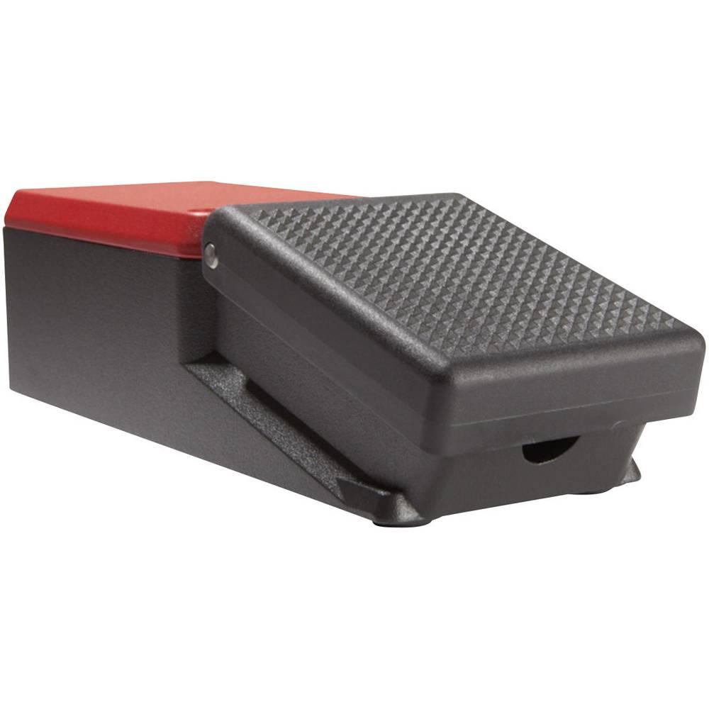 Nožno stikalo 500 V/AC 10 A 1 pedalo 1 zaprto,, 1 odprto, ASA Schalttechnik FL1 U1 IP65 1 kos