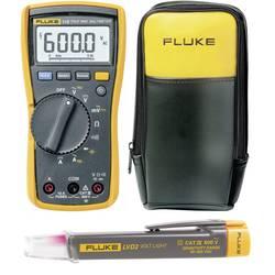 Ručni multimetar digitalni Fluke Fluke kalibriran prema tvorničkom standardu CAT III 600 V prikaz (brojenja): 6000