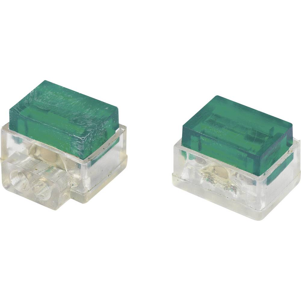 Enojni polnilni konektor, prilagodljiv: 1.13-1.13 mm toga: 1.13-1.13 mm št. polov: 2 Conrad 93014c946 30 kos zelena