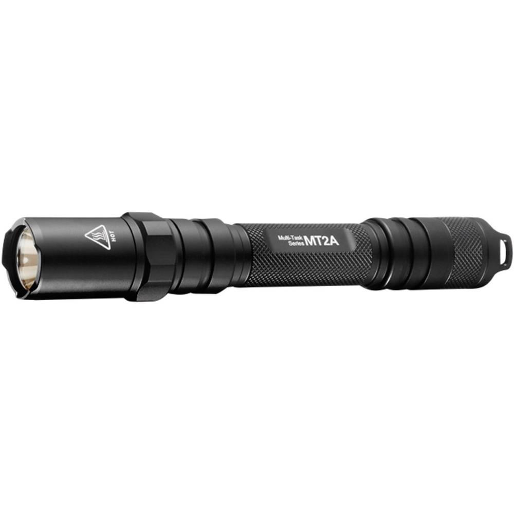 LED žepna svetilka NiteCore Multi Task MT2A , deluje na baterije 67 g črna NITMT2A