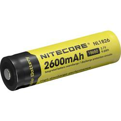 NiteCore 18650 LiIon-Akku 2600 mAh žepna svetilka-dodatna oprema NL186 za Universal NIT1865026