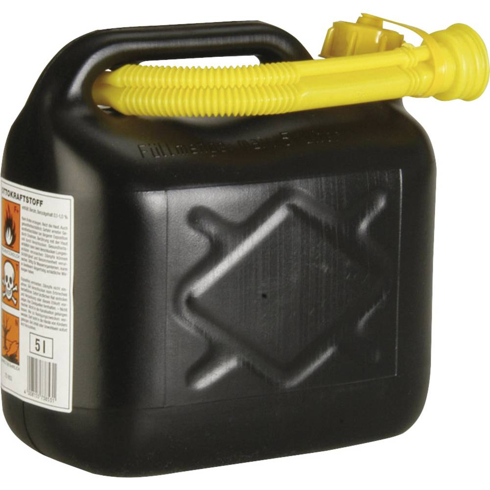 Brænstofbeholder Plast 811978 (B x H x T) 25 x 25 x 14 cm