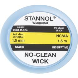 Lödfläta Stannol NC/AA Längd 1.5 m Bredd 1.5 mm