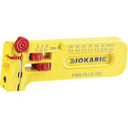 Jokari prezicna kliješta za skidanje izolacije PWS-Plus 6 za različite žice od 0,25 - 0,80 mm fine žice, sve PVC