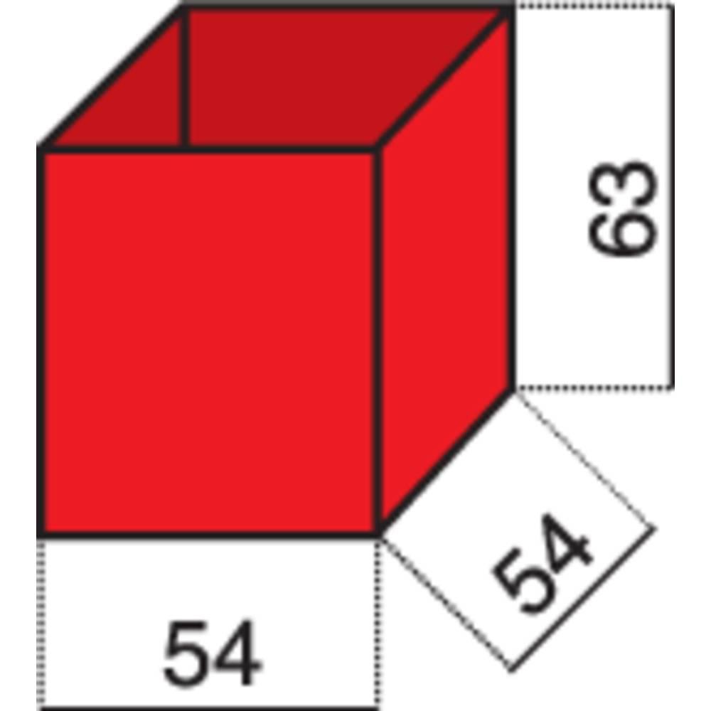 Vložek za sortirni kovček (D x Š x V) 54 x 54 x 63 mm Alutec št. predalov: 1