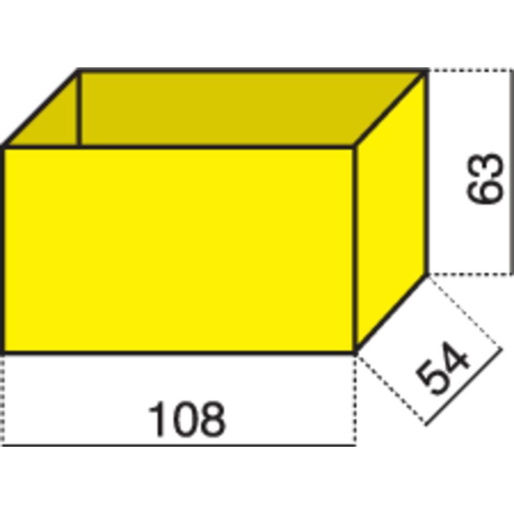 Vložek za sortirni kovček (D x Š x V) 108 x 54 x 63 mm Alutec št. predalov: 1
