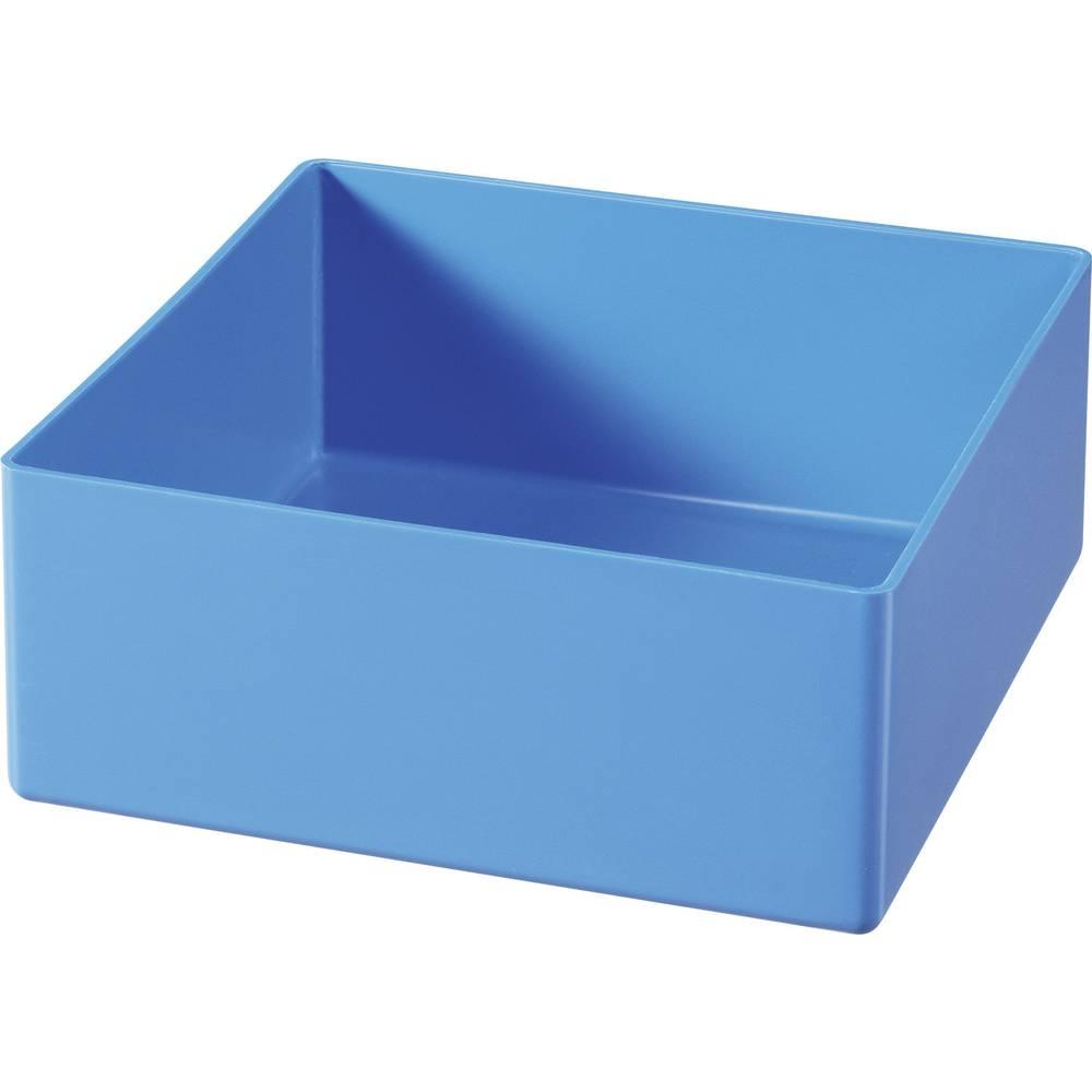 Plast-bokse-indsatser Blå