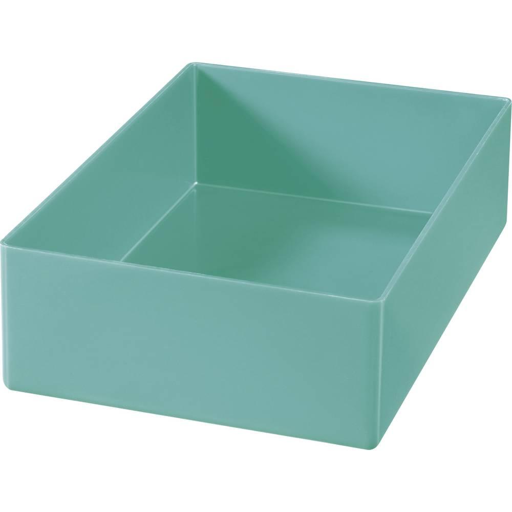 Plast-bokse-indsatser Grøn