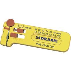 Jokari prezicna kliješta za skidanje izolacije PWS-Plus 6 za različite žice od 0,30 - 1,00 mm fine žice, sve PVC