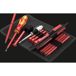 VDE zamenjljiva stebla izvijača, 18-delni komplet Wera KK 60 i/62 i/65 i/18 ploščati, križni Phillips, križni Pozidriv, plus/min