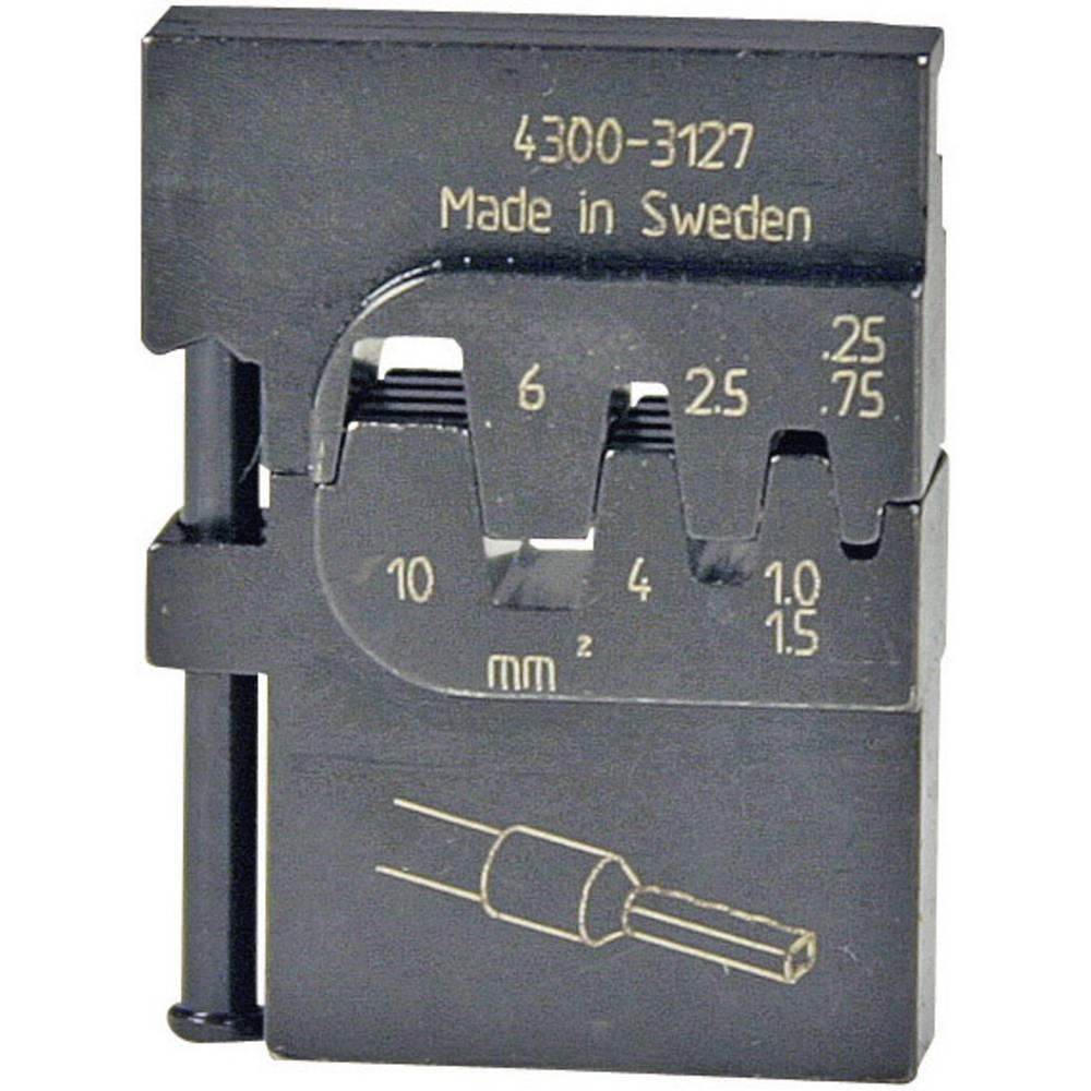 Vložek za stiskanje Pressmaster, 0,25-0,75/1,0-1,5/2,5/4,0/6,0/10,0 mm2, votlice