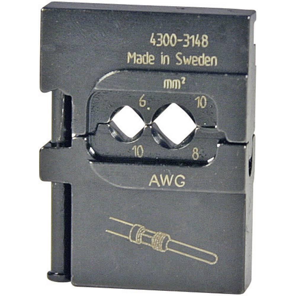 Vložek za stiskanje Pressmaster, 6,0/10,0 mm2, zasukani kontakti/težki konektorji