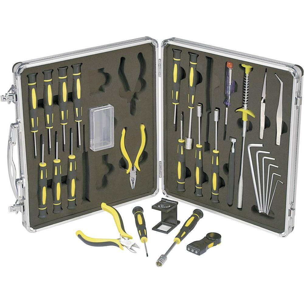 Komplet alata za preciznu mehaniku/elektroniku, 30 dijelova. 814892 Basetech