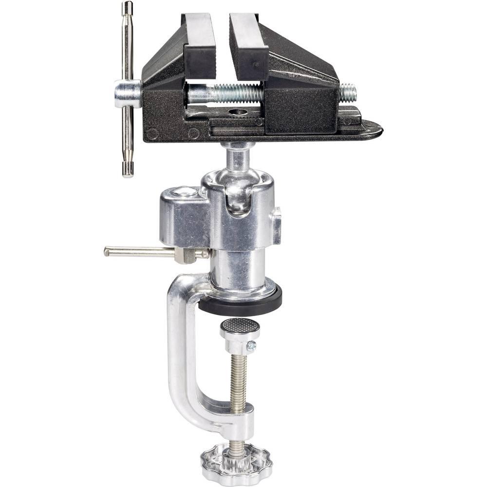Skruvstycke Basetech Käkbredd: 73 mm Spännvidd (max.): 55 mm