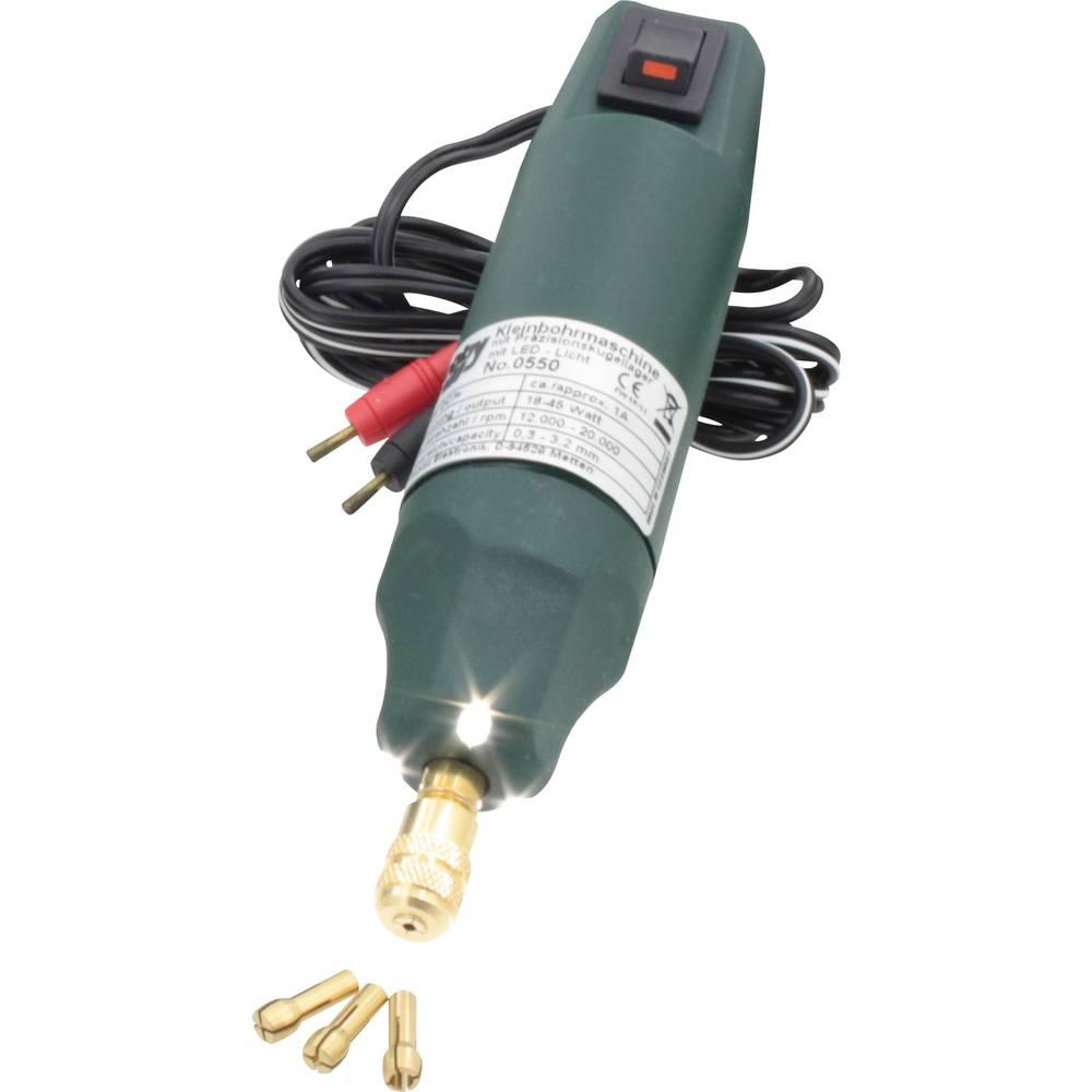 Majhen vrtalnik z LED-lučko Donau 0550