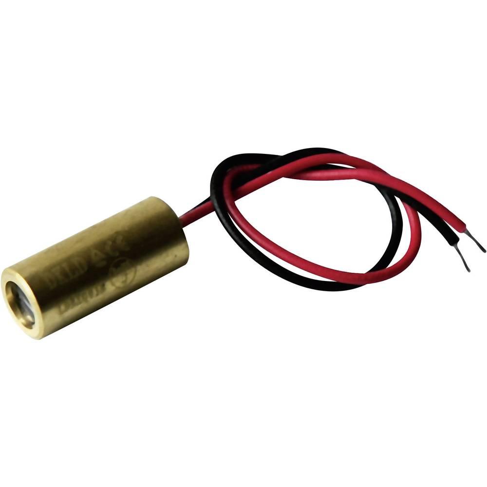 Laserski modul, linijski, crvene boje 5 mW Laserfuchs LFL650-5-12(9x20)90