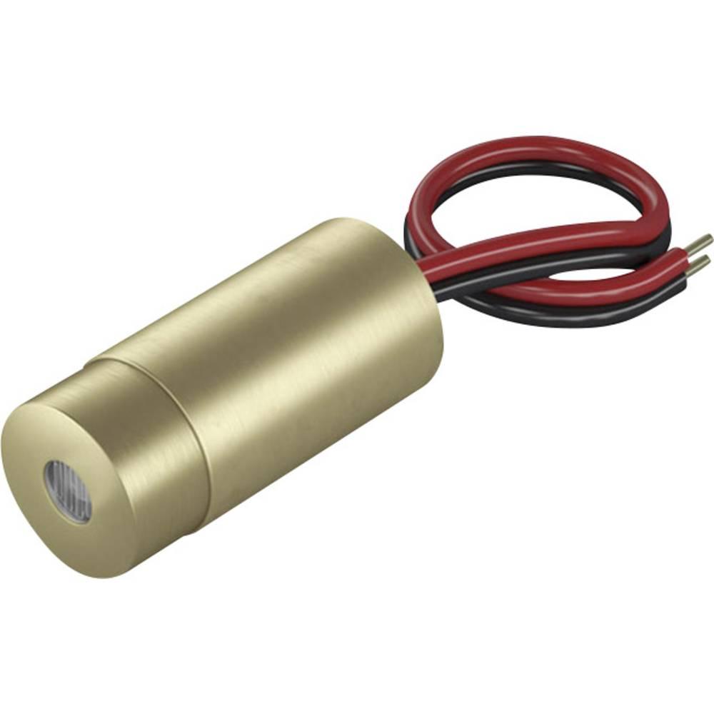 Laserski modul, točkovni, rdeče barve 0.4 mW Laserfuchs LFD650-0.4-12(9x20)