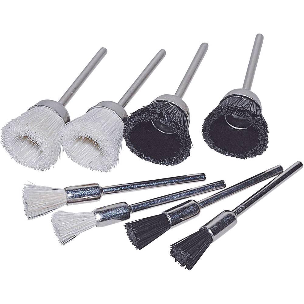 8-delars borst-set TOOLCRAFT (816525) Ø 21 mm 2.35 mm 1 set