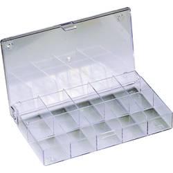 Sortirna škatla (D x Š x V) 164 x 31 x 101 mm št. predalov: 10 fiksna pregraditev