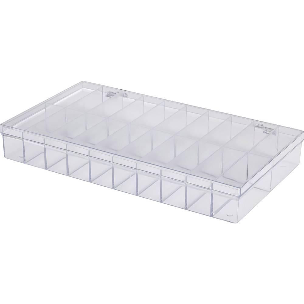 Sortirna škatla (D x Š x V) 296 x 169 x 41 mm št. predalov: 20 fiksna pregraditev