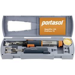 Komplet za plinski spajkalnik Portasol SuperPro komplet, 625 °C 90 min vklj. s Piezo-vžigalnikom