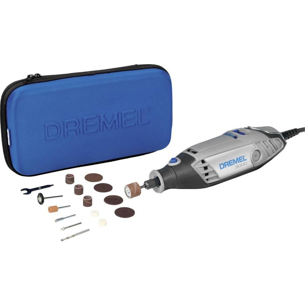 Večnamensko orodje, vklj. dodatna oprema, torba 16-delni komplet 130 W Dremel 3000-15 F0133000JA