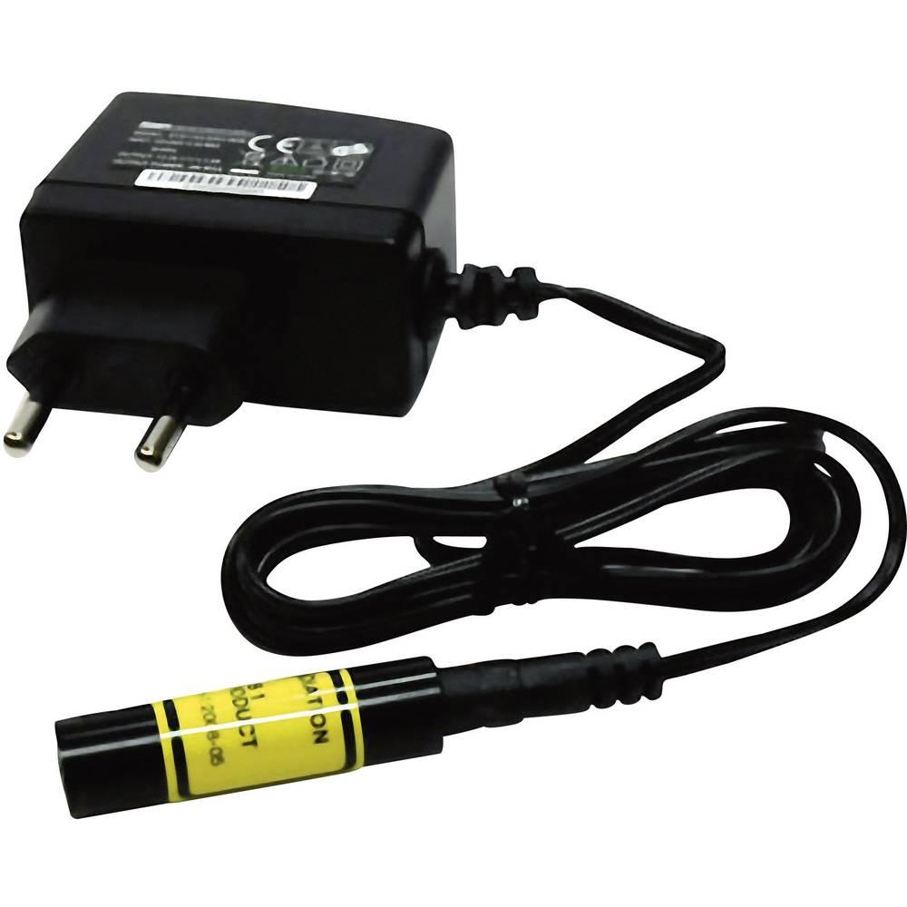 Laserski modul, linijski, rdeče barve 5 mW Laserfuchs LFL650-5(12x45)60-NT