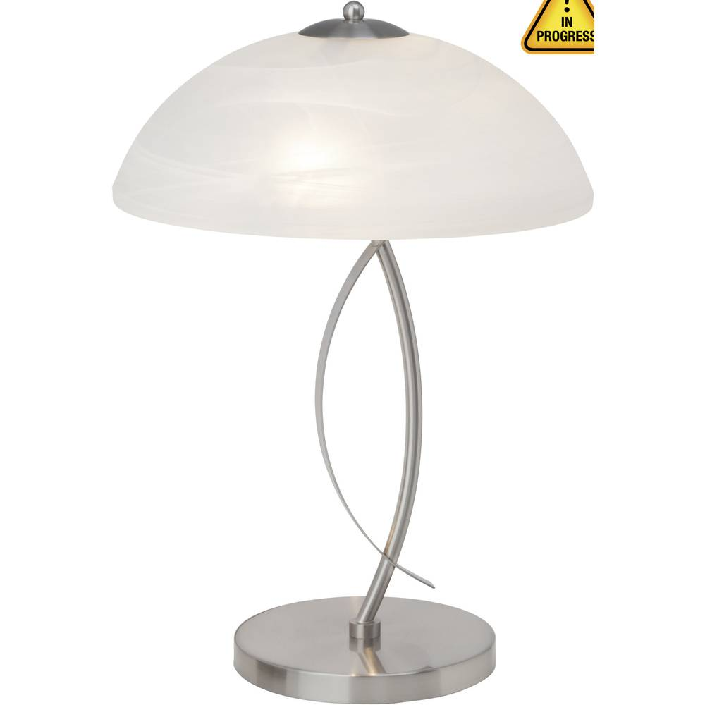 Namizna luč halogenska žarnica E14 80 W Brilliant Boston 12848/13 železo, bela