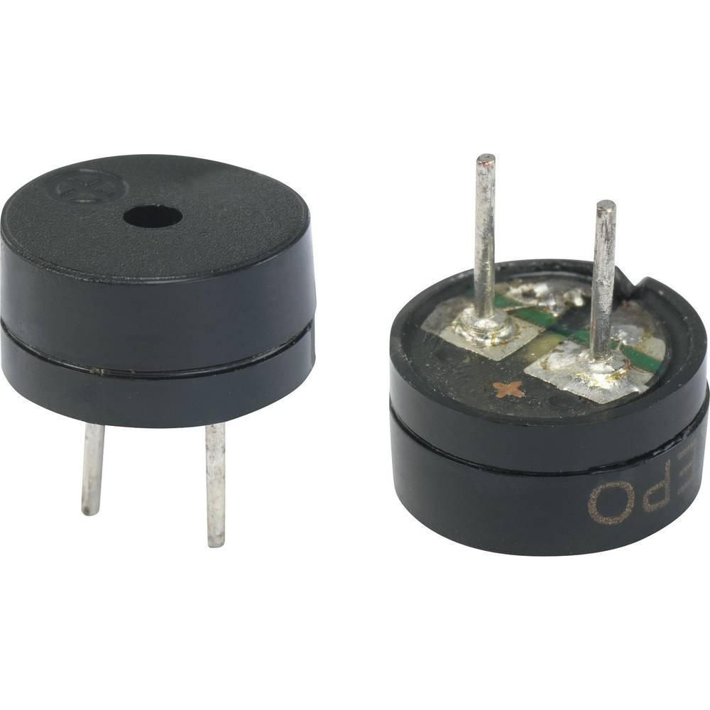 Piezo-alarm (value.1782093) Støjudvikling: 85 dB Spænding: 5 V Kontinuerlig lyd (value.1730255) KEPO KPMG09F7-K9216 1 stk