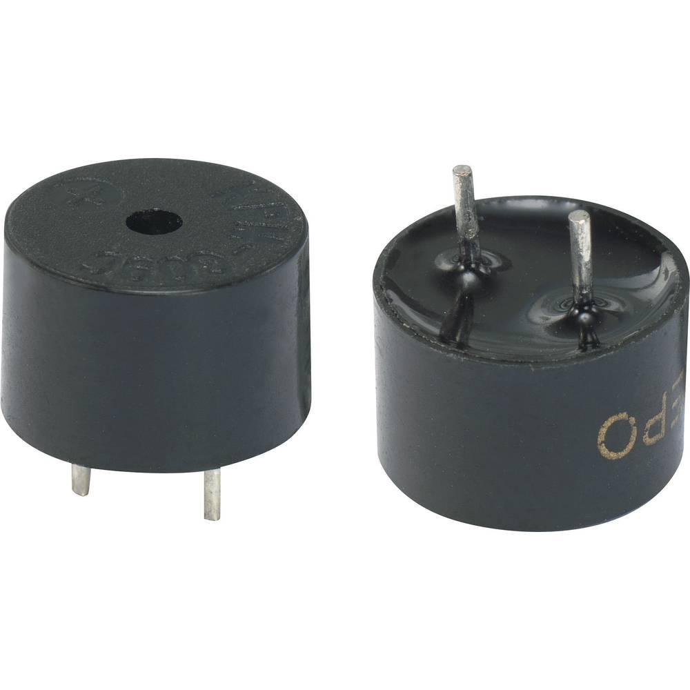 Piezo-alarm (value.1782093) Støjudvikling: 85 dB Spænding: 5 V Kontinuerlig lyd (value.1730255) KEPO KPMG09C14-K9214 1 stk