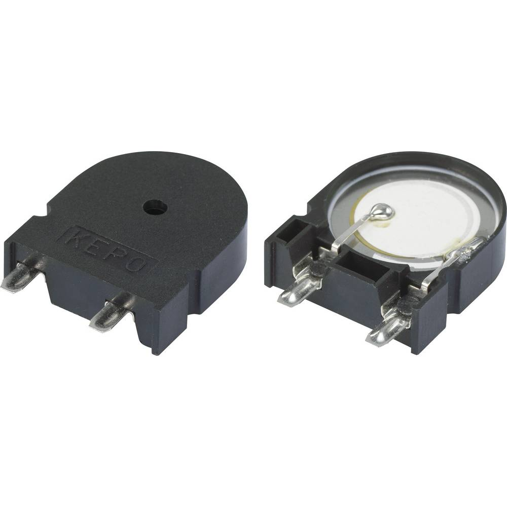 Piezo-alarm (value.1782093) Støjudvikling: 75 dB Spænding: 30 V Kontinuerlig lyd (value.1730255) KPT-G2312A-K9209 1 stk