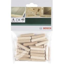 Mozniki, leseni Bosch 2609255311, 8mm, 40 kosov