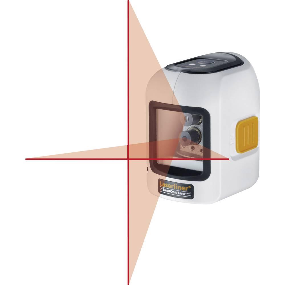 Križnolinijski laser Samonivelirajući Laserliner SmartCross-Laser Raspon (maks.): 10 m Kalibriran po: ISO