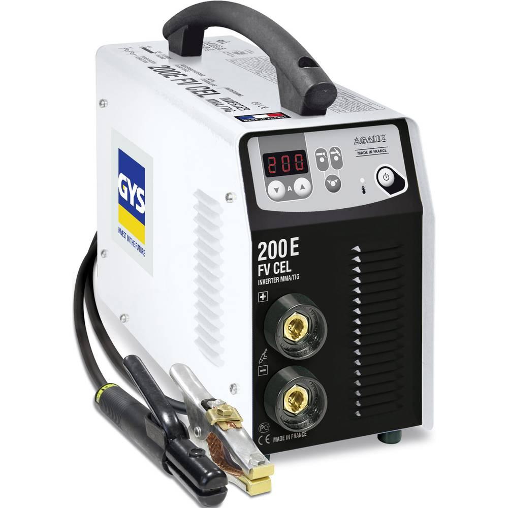 Profesionalni varilni inverter za elektrode GYS GYSMI E200 CEL, 5-200 A 030862