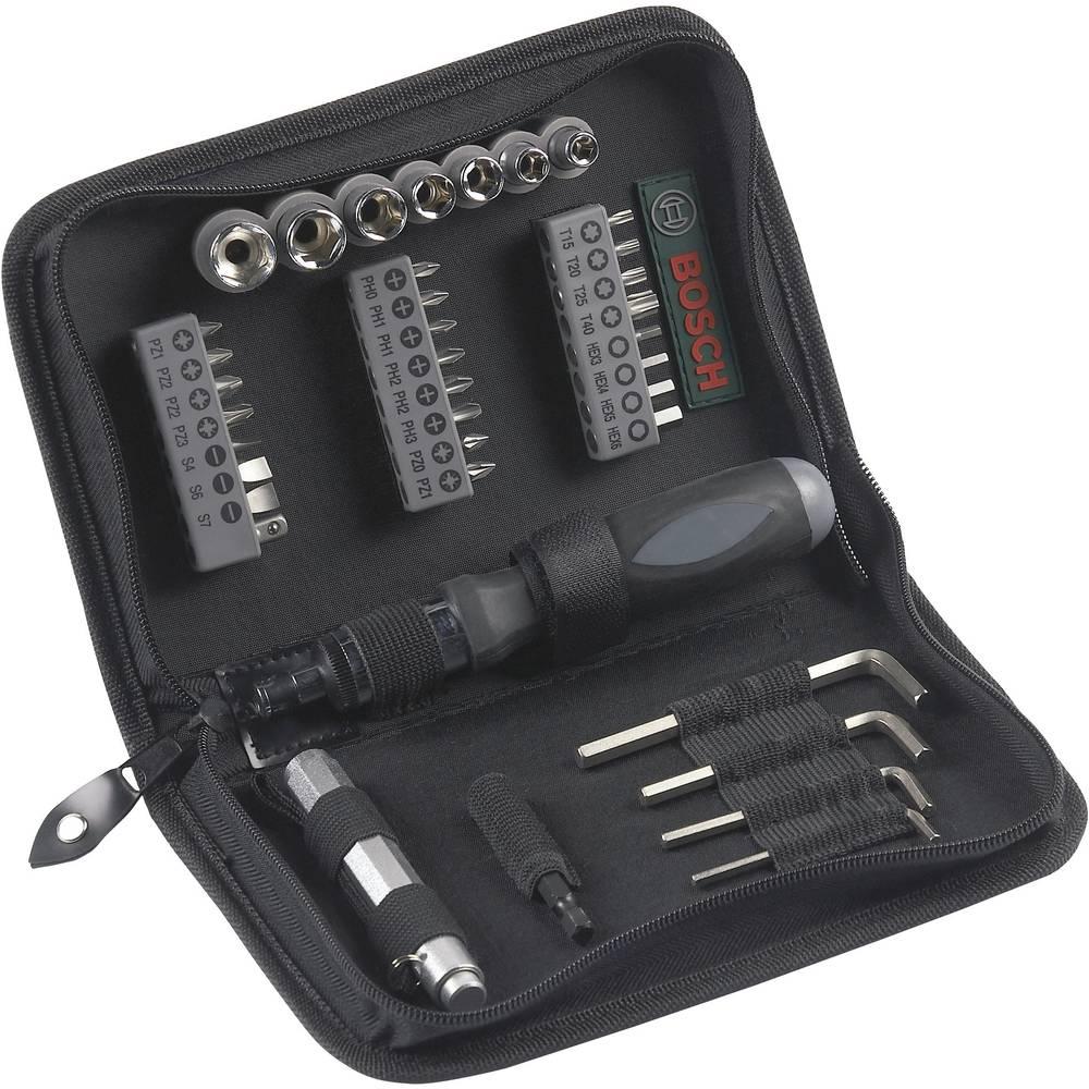 38-delni komplet orodja v torbici na zadrgo Bosch, komplet nastavkov 2607019506