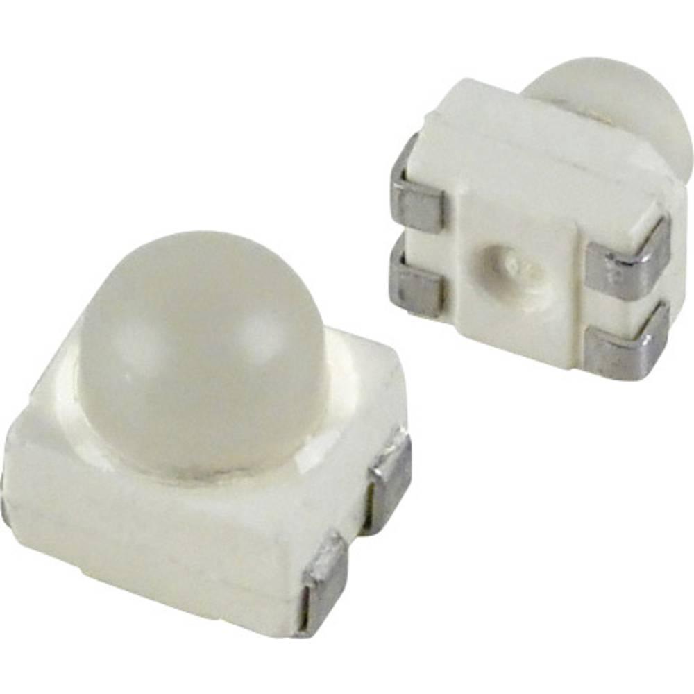 SMD-LED (value.1317393) OSRAM PLCC4 30 ° Gul