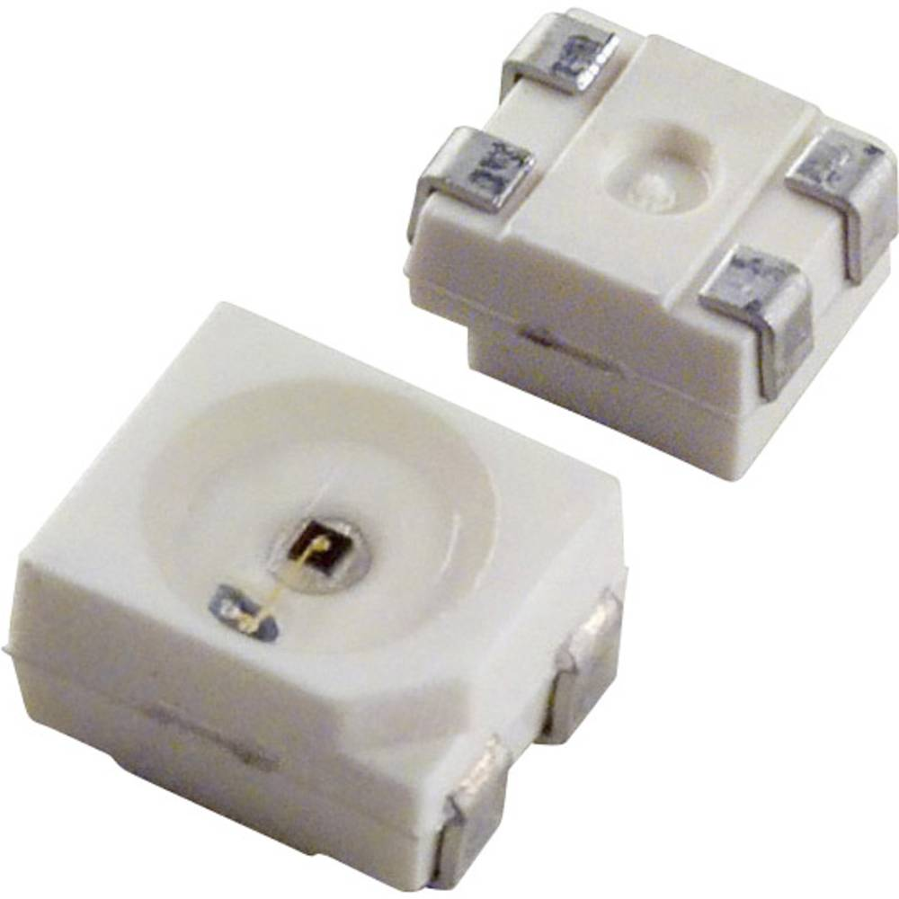 SMD-LED (value.1317393) OSRAM PLCC4 700 mcd 120 ° Grøn