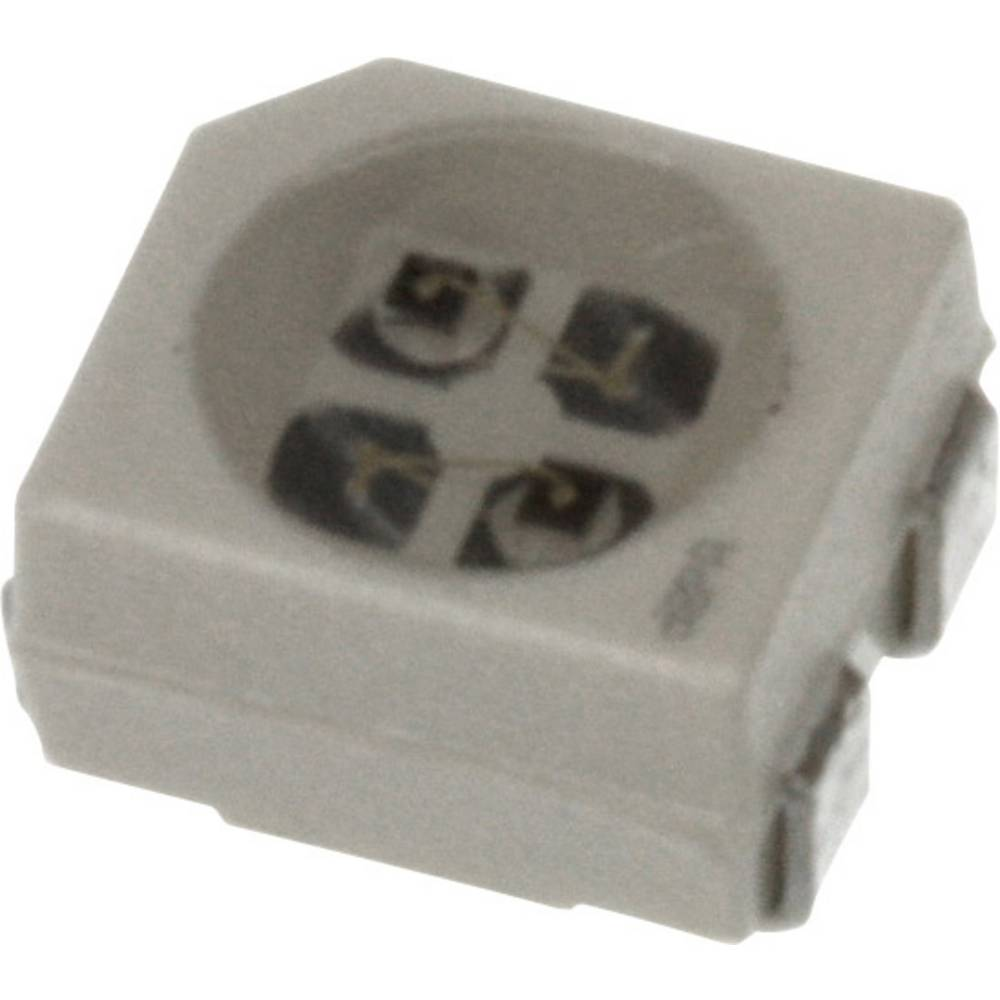 SMD-LED (value.1317393) OSRAM PLCC4 295 mcd, 467 mcd 120 ° Rød, Gul