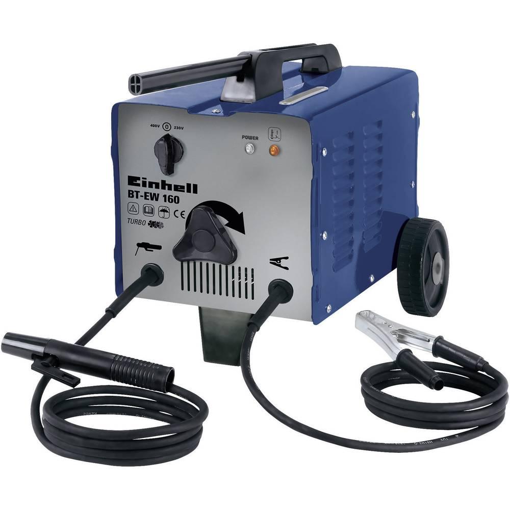 Einhell električni uređaj za varenje BT-EW 160 1546040 napon 230 V oder 400 V/50 Hz struja varenja 55 - 160 A snaga