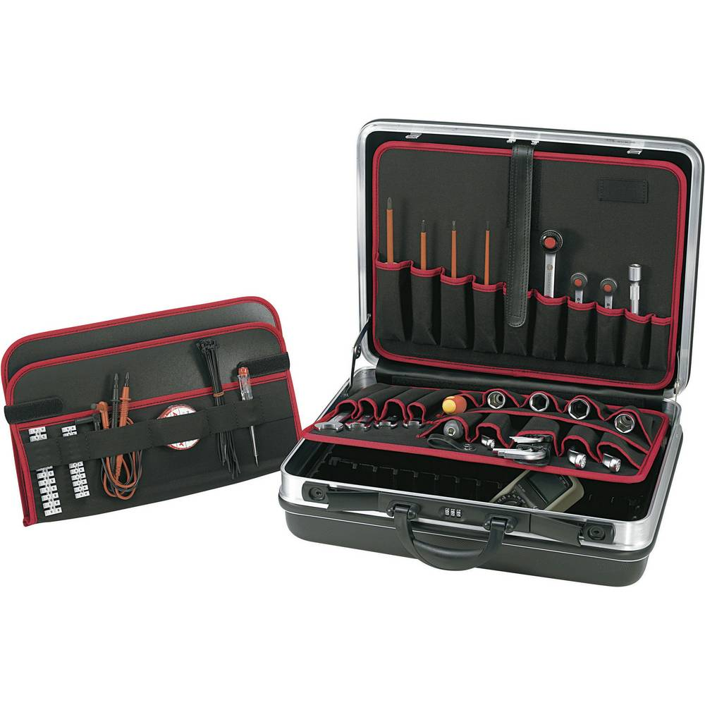 Univerzalni kovček za orodje, brez vsebine TOOLCRAFT 821398 (D x Š x V) 490 x 420 x 185 mm