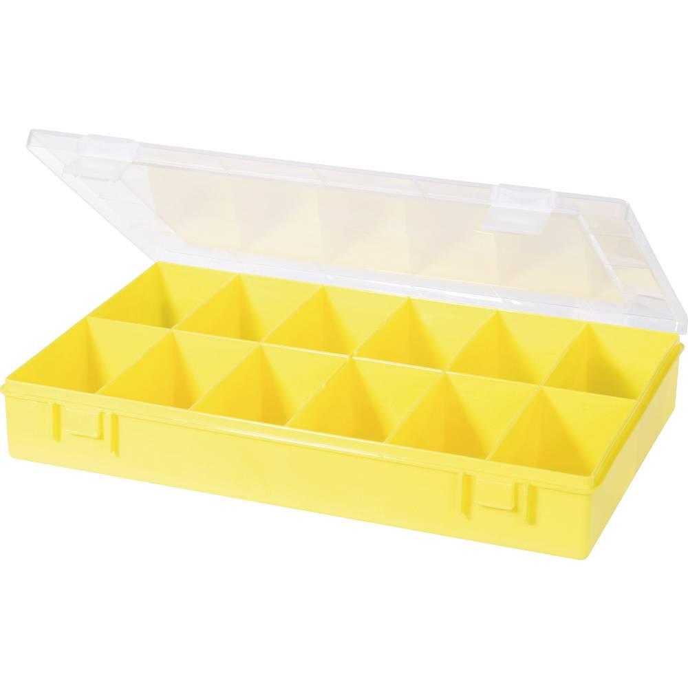 Sortirna škatla (D x Š x V) 335 x 225 x 55 mm Alutec št. predalov: 12 fiksna pregraditev