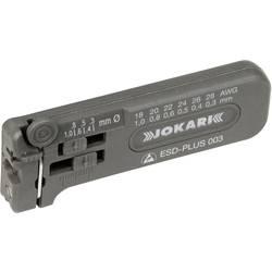 Jokari mikro kliješta za skidanje izolacije ESD-Plus 0,30 bis 1,00 mm, AWG 28 - 18 vod s vanjskom izolacijom od PVC, PTFE, KYNAR