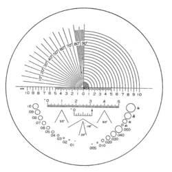 Precizna skala za razne primjene Eschenbach 115203 23 mm